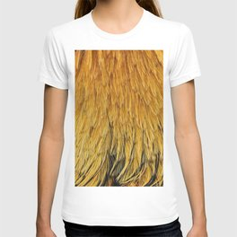 Fancy Rooster Feathers T-shirt