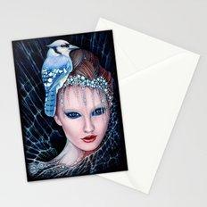 geai bleu Stationery Cards
