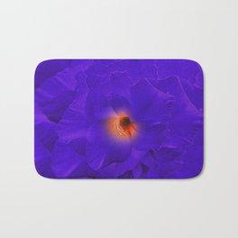 Sword Lily Purple Kaleidoscope Bath Mat