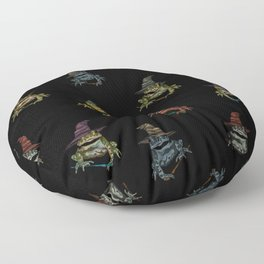 Magic Frogs Floor Pillow