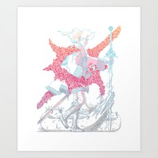 Fourth Grade Fantasy. Art Print