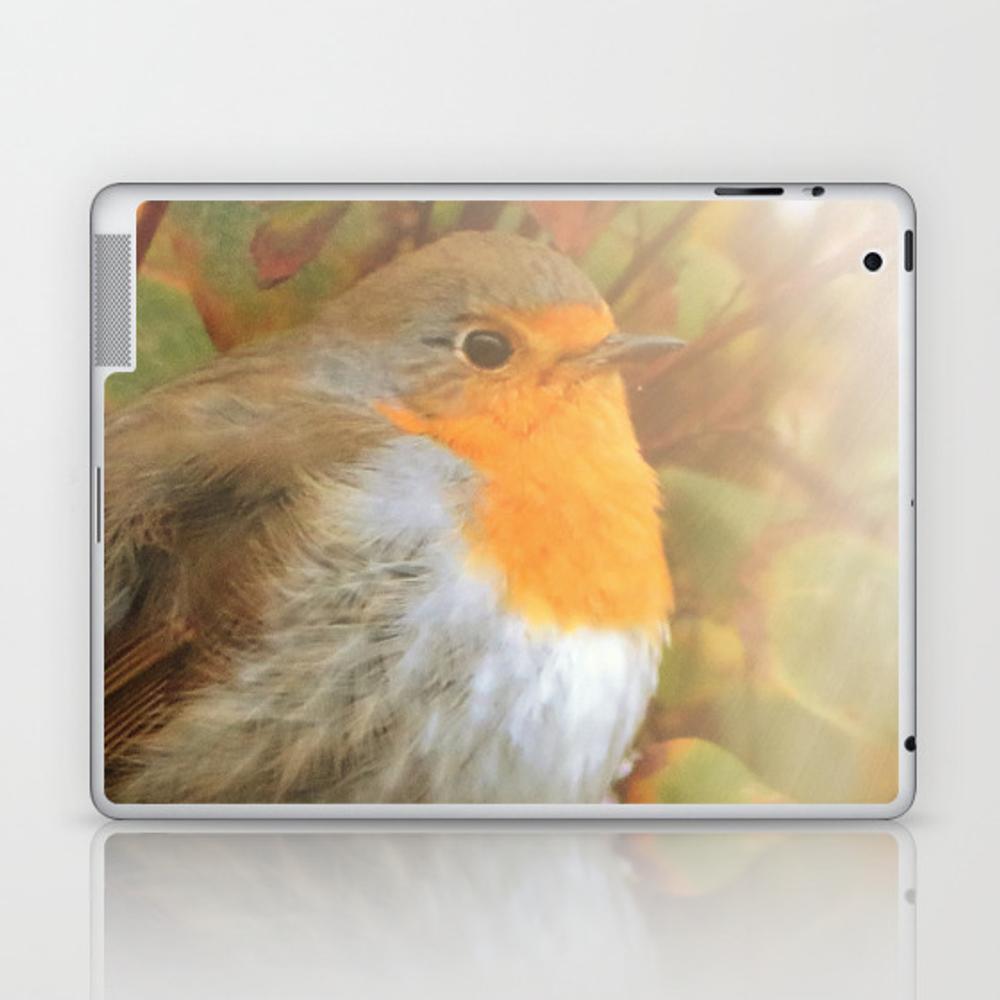 Robin Redbreast Laptop & iPad Skin by julianarw (LSK10038222) photo