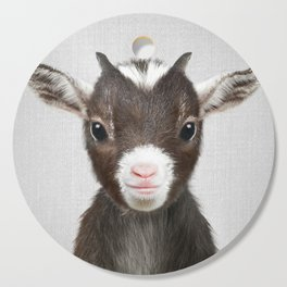Baby Goat - Colorful Cutting Board