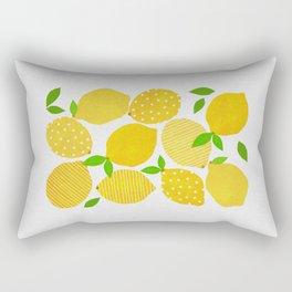 Lemon Crowd Rectangular Pillow