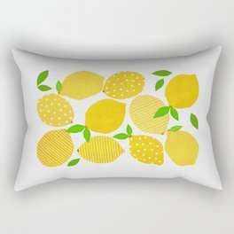 Lemon Crowd Rectangular Pillow