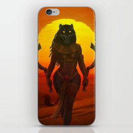 Sekhmet iPhone Skin
