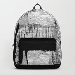 White & Grey Backpack