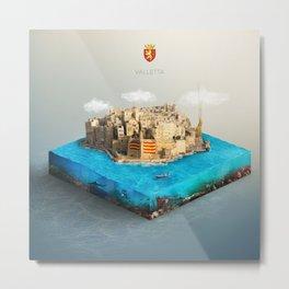 Valletta Metal Print