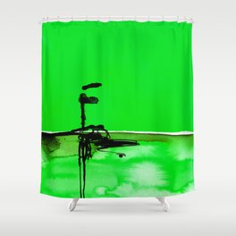 Introspection No. 20D by Kathy Morton Stanion Shower Curtain