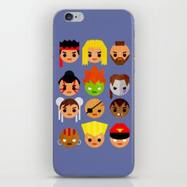 Street Fighter 2 Mini iPhone Skin
