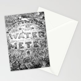 Water Meter Stationery Cards