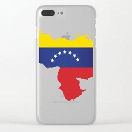 Venezuela - venezuelan heart - flag design Clear iPhone Case
