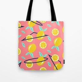 Lemons party #society6 #decor #buyart Tote Bag
