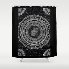 Gravitation Mandala Shower Curtain