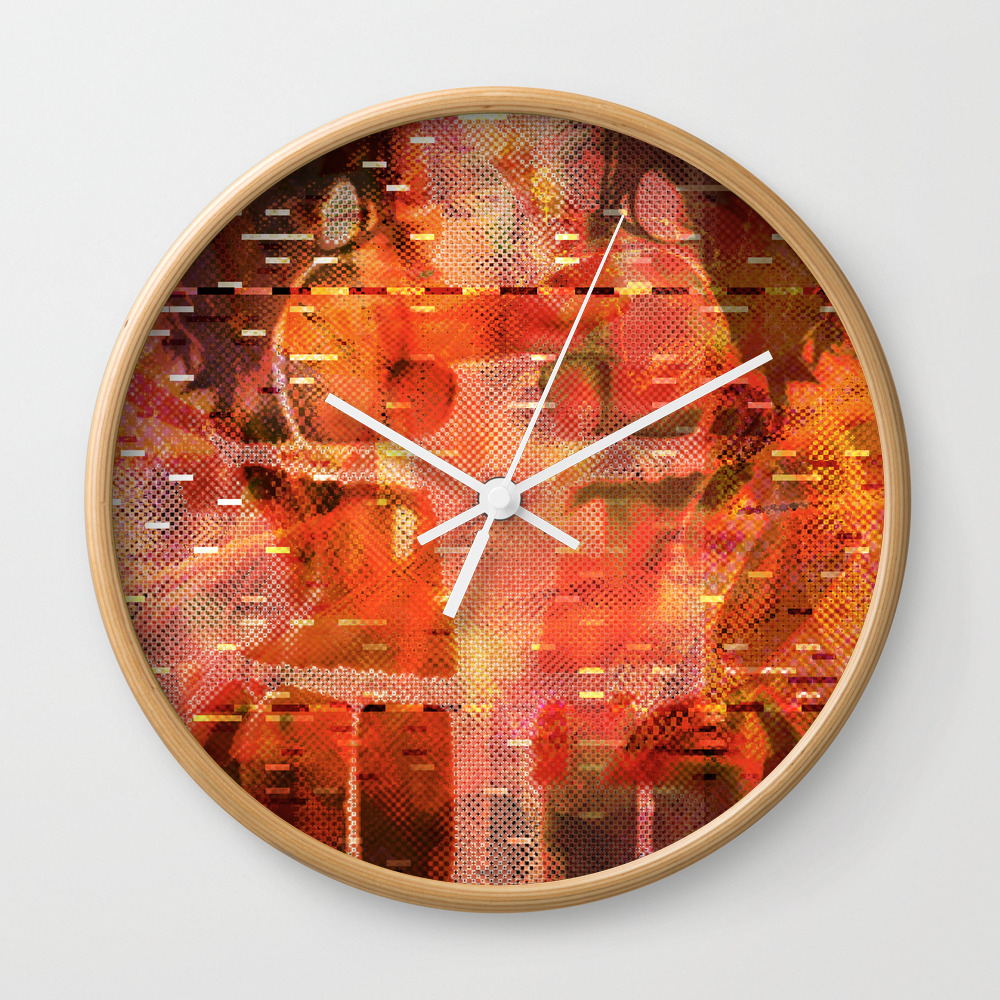 Been There Done That < The No Series (brown) Wall Clock by Wayneedsonbryan CLK952696