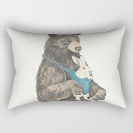 the bear au pair Rectangular Pillow