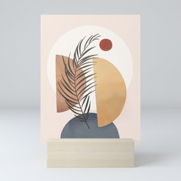 Minimal Abstract Shapes No.50 Mini Art Print