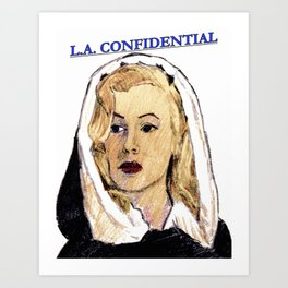 LA Confidential Art Print