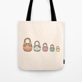 Matryoshka Madames Tote Bag
