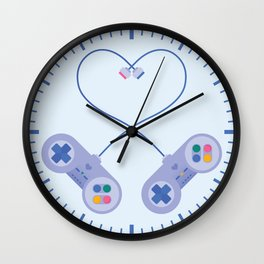 Be My Player 2 Wall Clock