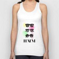 haim Tank Tops featuring Haim (colour version) by Mariam Tronchoni