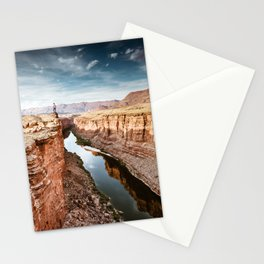 on top of the canyonland Stationery Cards