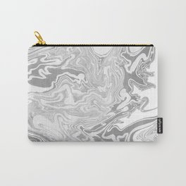Gray Marble paper Carry-All Pouch