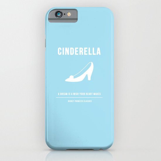 Disney Princesses: Cinderella Minimalist iPhone & iPod Case