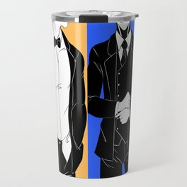 Dapper One Punch Man Travel Mug