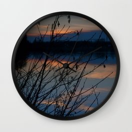 Concept Water reflection Wall Clock
