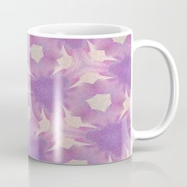 Geometric Floral Design - Purple Coffee Mug