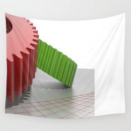 Precision mechanics Wall Tapestry