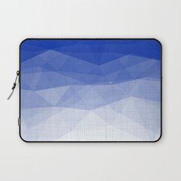 Imperial Lapis Lazuli - Triangles Minimalism Geometry Laptop Sleeve
