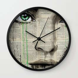 TURN GREEN Wall Clock