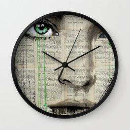 TURN GREEN Wall Clock