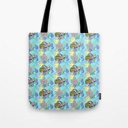 Summer Rhino Tote Bag