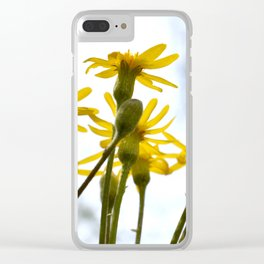 Squaw Weed 2 Clear iPhone Case