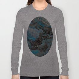Marble, it is cool, aloof and especially elegant Long Sleeve T-shirt