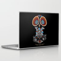 mexican Laptop & iPad Skins featuring Mexican Owl by Msimioni