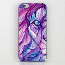 Galaxy Lion iPhone Skin