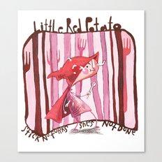 Little Red Potato Canvas Print