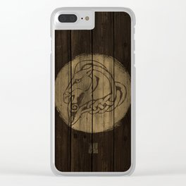 Horse Shield Clear iPhone Case