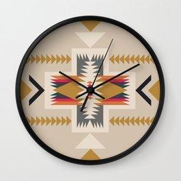 goldenflower Wall Clock