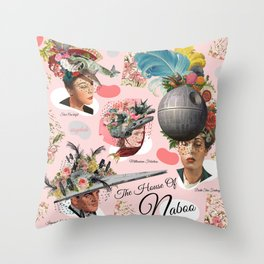 The House Of Naboo Throw Pillow