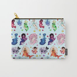 crystals under the sea Carry-All Pouch