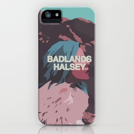 Badlands Halsey iPhone Case