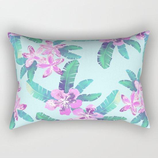 Tahitian Garden {D} Rectangular Pillow