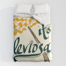 It's Leviosa Magic Wand Design Bettbezug