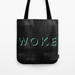 WOKE I Tote Bag