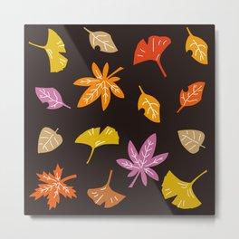 Autumn Leaves_F Metal Print
